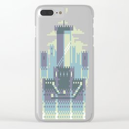 Pixel-sword Clear iPhone Case