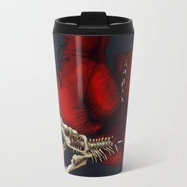 Red gloves Metal Travel Mug