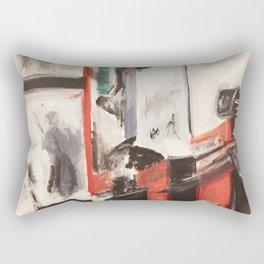 City Painting - New York Rectangular Pillow