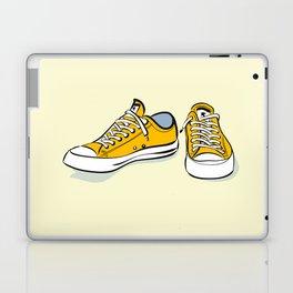 Yellow Sneakers Laptop & iPad Skin
