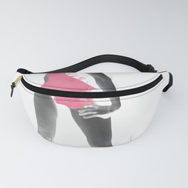 Fashion model Fanny Pack