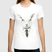 lamb T-shirts featuring Lamb by David Cristobal