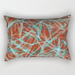 Bright Leaves #3 Rectangular Pillow