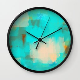 2 sided world Wall Clock