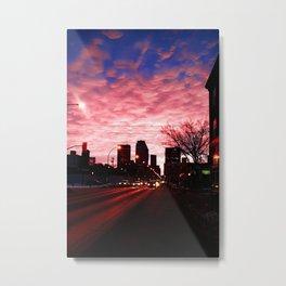 Winnipeg Sunrise Metal Print