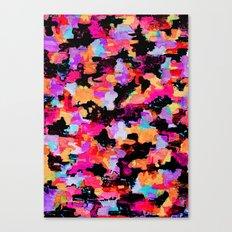 Threshold Camo Canvas Print