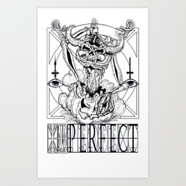 THIS TIME IMPERFECT Art Print