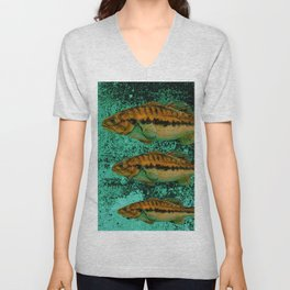 FISH Unisex V-Neck