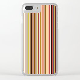 Old Skool Stripes Clear iPhone Case