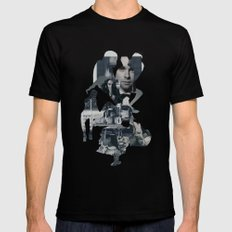 Suburban Apparition SMALL Mens Fitted Tee Black
