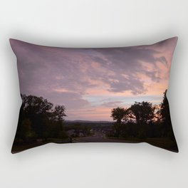 Pastel Road Rectangular Pillow