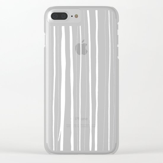 Vertical Living Clear iPhone Case
