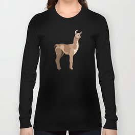 Peruvian Llamas Long Sleeve T-shirt