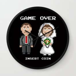 Marriage - Game Over Wall Clock