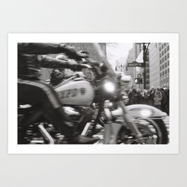 NYPD, West 42nd St Art Print
