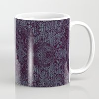 tatoo Mugs featuring Tatoo weft by NumericEric
