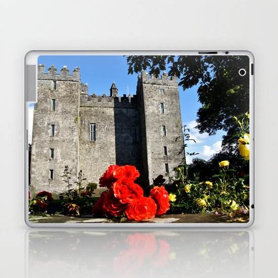 Bunratty Roses Laptop & iPad Skin