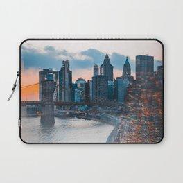 NYC Traffic Flurry Laptop Sleeve