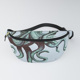 Vintage Octopus Fanny Pack