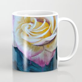 Pink and Yellow Rose painting Coffee Mug