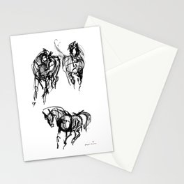 Horses (Trio) Stationery Cards