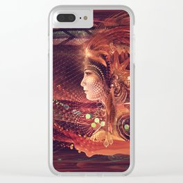 Shadow of a Thousand Lives - Visionary - Manafold Art Clear iPhone Case