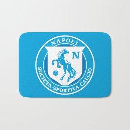 Naples Horse Football badge Bath Mat