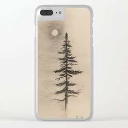 Amidst Winter Clear iPhone Case