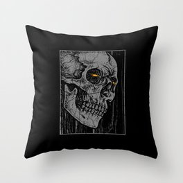 Broken Frame Throw Pillow