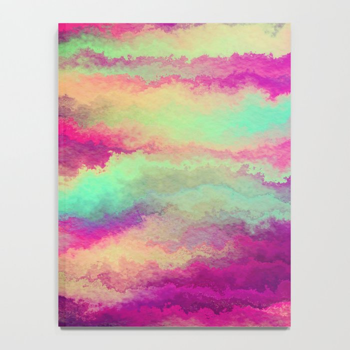 Painted Rainbows 6 Notebook