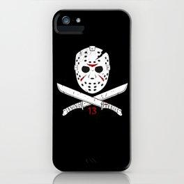 Jason mask iPhone Case