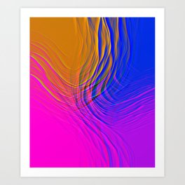 SUBMITTION Art Print