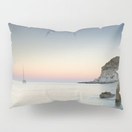"""SuperMoon in Plomo Beach"" Pillow Sham"