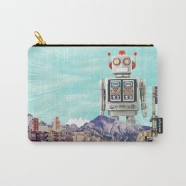 Robot in Town Carry-All Pouch