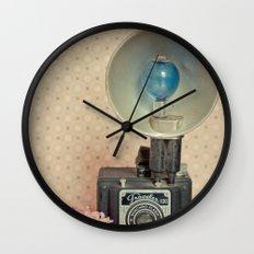 Traveler 120 Vintage Camera Wall Clock