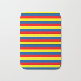 andorra Ecuador romania moldova chad colombia orkney flag stripes Bath Mat