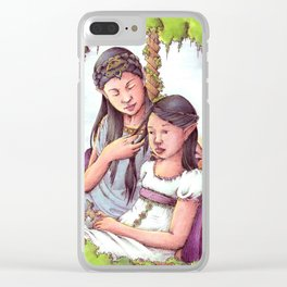Aredhel and Anarie Clear iPhone Case