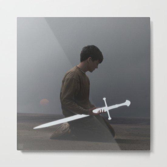 Weapon Metal Print