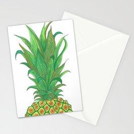 Geometric Pineapple Stationery Cards