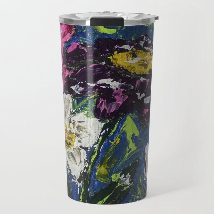Floral No. 1 Travel Mug
