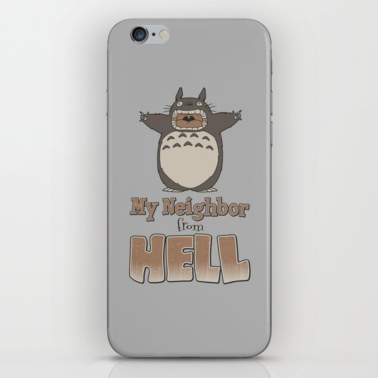 My Neighbor from Hell iPhone & iPod Skin