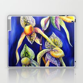 Orchid -  The Paphiopedilum , known as Lady's Slipper Laptop & iPad Skin