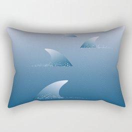Let's go swimming Rectangular Pillow