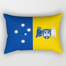 flag of canberra Rectangular Pillow
