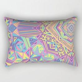 Colour Burst Rectangular Pillow