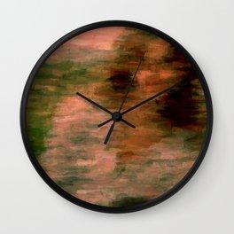 Orgasmic Vivid Auburn Wall Clock