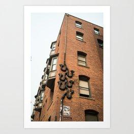 city building Art Print