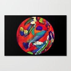 Mon Monde Canvas Print