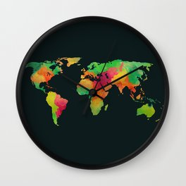We are colorful Wall Clock