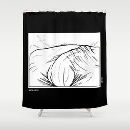 InkLATER: Swollen Shower Curtain